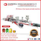 높은 분대 여행 가방 PC 장 중국에서 플라스틱 압출기 선 기계