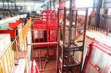 China-Fertigung-Doppeltes sperrt Aufbau-Gebäude-Hebevorrichtung ein