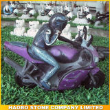 Stone Vehicle Carvings Car Shape Statue