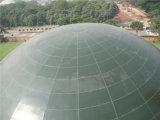 Aluminiumzwischenlagepanel Doppeltes gebogene Dach-Stahlkonstruktion