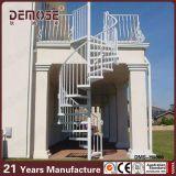 屋外プレハブの螺線形の鉄階段(DMS-H1003)