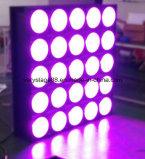 ナイトクラブLED RGBWの洗浄かビーム効果25PCS LEDのマトリックスライト