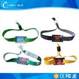 Projeto novo feito-à-medida da venda quente Wristband feito sob encomenda da tela