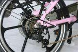 """20 """" 36Vリチウム電池のディスクブレーキの倍のレバーの折る自転車(JSL039BL-7)"""