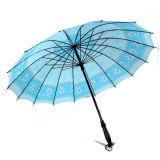 رخيصة جميل زهرة طباعة تغطية مستقيمة مطر و [سون ومبرلّا] - [س041]