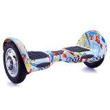 落書き2の車輪のスマートな電気計量器のスクーター