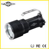 Lumière IP-X7 portative imperméable à l'eau rechargeable d'alliage d'aluminium (NK-655)