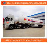 나이지리아를 위한 반 30t LPG 탱크 트레일러 59.52cbm LPG 납품 트레일러