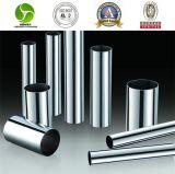 Tube sans couture et soudé d'acier inoxydable de solides solubles 201/1.4372 (202/304/316)