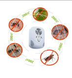 El control de parásito, se dobla lo más tarde posible repulsivo del parásito de la onda, el mejor reflector del parásito para toda la clase de insectos y los roedores, equipo ultrasónico del control de parásito con la luz azul de la noche