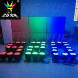 PARIDADE 54 3W do diodo emissor de luz do RGB da cor cheia de DMX DJ