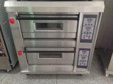 Oven van het Gas van het Dek van de Oven van het Dek van de Bakkerij van Hongling de Commerciële Dubbele