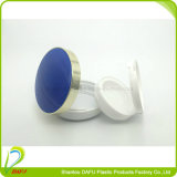 Envase azul de los cosméticos de la crema del Bb del amortiguador de aire de la dimensión de una variable redonda