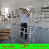 Basamento di alluminio della costruzione della cabina di mostra