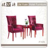 Оптовый популярный стул алюминия/утюга мягкий имитированный деревянный (JY-A26)