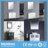 Hoher Glanz Vinyl-Wickeln erstklassiges modernes Badezimmer-Eitelkeits-Gerät ein (BC129V)