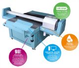 Digital universelle Flatbed UV Printer avec Epson Dx5 Inkjet Printhead (1.3m*1.2m ou 2.5m*1.2m pour Decoration, Industry et Signage)