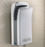 ABS White Allover O World Hand Dryer