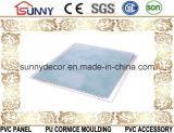 Nuovo comitato del PVC di disegno della laminazione piana di marmo per il fornitore della Cina del soffitto