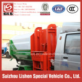 3 Cbm Side Loading와 유엔 Loading Crane Bucket Garbage Truck Mini Rubbish Vehicle