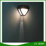 Lumière imperméable à l'eau de DEL de bas-côté de mur de lampe de porte solaire décorative à l'extérieur