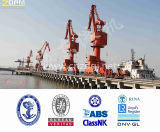 25t Mobile portal Crane Single Jib Port Equipment Port Use para Loading e