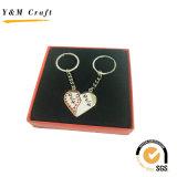 Anello chiave del metallo delle coppie per il regalo