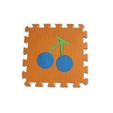 Type environnemental de fruits de couvre-tapis de casse-tête de mousse de Kamiqi EVA pour apprendre de bébé