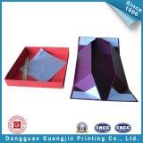 Коробка упаковки пурпурового подарка цвета складывая (GJ-Box136)