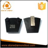 Werkmaster einzelnes Segment-Metallkonkreter reibender Diamant