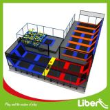 Больш - определенный размер подгонянный парк Trampoline конструкции крытый коммерчески