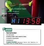 [Ganxin] la aptitud en pantalla grande popular de 8 pulgadas se divierte el temporizador del LED Digital