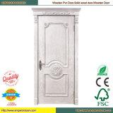 Kirschhölzerne Türrahmen-hölzerne Tür-Dekoration-Holz-Tür