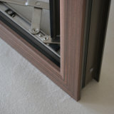 Ventana de madera de aluminio del marco con el bloqueo multi Kz108