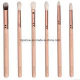 Cepillos de oro del maquillaje 15PCS de Zoeva Rose en cosméticos esenciales del conjunto de cepillos del ojo de la cara del caso de cuero