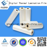 Película termal de la laminación de la vinculación estupenda para la impresión de Digitaces (lustre 35mic)