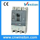 500/800V Nsシリーズセリウムが付いている調節可能なMCCBによって形成されるケースの漏出保護回路ブレーカ