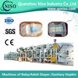 Máquina eficaz del servocontrol para hacer los pañales con el CE (YNK500-SV)