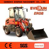 Everun 상표 세륨에 의하여 증명서를 주는 Er08 작은 건축기계 바퀴 로더