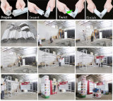 Будочка выставки ткани горячего сбывания портативная разносторонняя алюминиевая