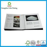 Service d'impression de livre de cuisinier de Cusotomized Hardcoer de qualité