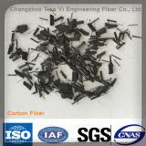 Die Rohstoff-Kohlenstoff-Faser für die Aufbau-Verstärkung verwendet in der Industrie