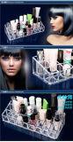 Het duidelijke Plastic AcrylGeval van de Make-up van de Organisator van de Tribune van de Vertoning van de Houder van Lippenstift 24 Kosmetische