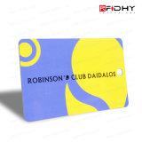 Carte de l'adhésion VIP de PVC/carte de cadeau/carte sèche d'IDENTIFICATION RF