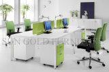 Partición limpia del sitio de trabajo de la oficina del estilo de la partición simple moderna (SZ-WSL304)