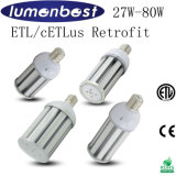 60W diodo emissor de luz Corn Light com E40 Base ETL Listed