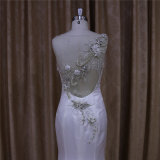 Vestidos de casamento de seda do tafetá