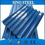 Folha da telhadura do revestimento de zinco de Ral9003 Z60 PPGI para a casa