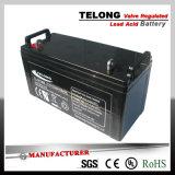 batterie d'acide de plomb de gel profond du cycle 12V220ah pour le système solaire et d'UPS d'alimentation