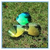 Объективы солнечных очков объектива изумрудно-зеленого поляризовыванные Tac